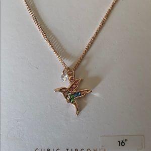 LC Lauren Conrad Jewelry - Lauren Conrad hummingbird necklace🌸
